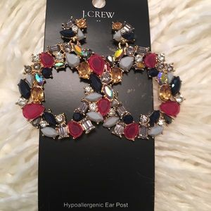 J. Crew Best Seller Colorful Hoop Earrings